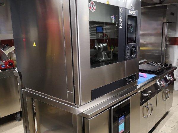 riprogettazione cucina del ristorante la colubrina